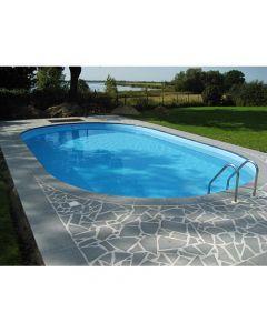 SET Platinum Pool Ovaal 120 cm diep Inbouwzwembad
