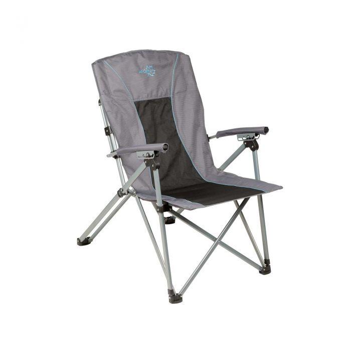 Bo Camp Vouwstoel.Bo Camp Vouwstoel Deluxe King Plus 3 Standen Antraciet